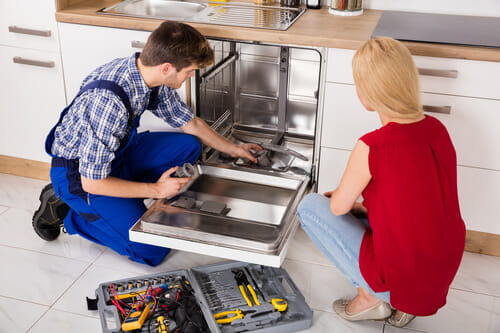 не включается посудомойка